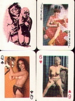 Erotic Pin-up playing cards Deck #66