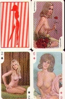 Erotic Pin-up playing cards Deck #68
