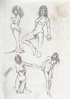 Original Erotic 1970's art by George Martin #04