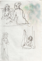 Original Erotic 1970's art by George Martin #06