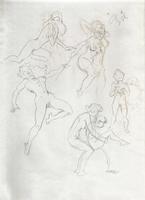 Original Erotic 1970's art by George Martin #09