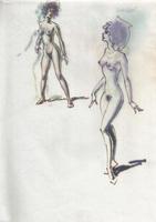 Original Erotic 1970's art by George Martin #12