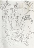 Original Erotic 1970's art by George Martin #14