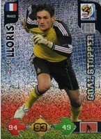 Panini Adrenalyn XL World Cup 2010 complete Goalstoppers set