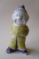 Sneeuwwitje Dopey bisque figure 1930's