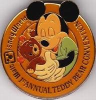 Disney World 1st Teddy Bear Convention pin