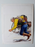 #4. Original Cover painting Western novel U.S. Marshal #268