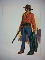 #7. Original Cover painting Western novel Extra Oeste #1232