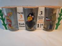 set Fabeltjeskrant Raak glazen in originele verpakking