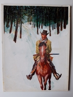 #25. Original Cover painting Western novel Oeste #312