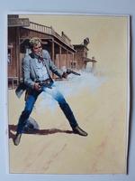#26. Original Cover painting Western novel Oeste #318