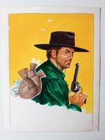 #31. Original Cover painting Western novel Oete #311