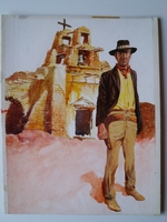 #43. Original Cover painting Western novel Winchester #45