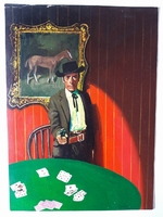 #44. Original Cover painting Western novel Gran Canon #31