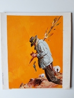 #53. Original Cover painting Western novel U.S.Marshal #44