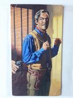 #87. Original Cover painting Western novel Mustang #14