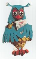 Fabeltjeskrant kartonnen snoepzak-figuur Mijnheer de Uil
