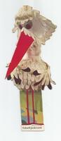 Fabeltjeskrant kartonnen snoepzak-figuur Juffrouw Ooievaar B