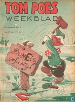 Tom Poes weekblad 3e jaargang nummer 05