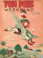 Tom Poes weekblad 2e jaargang nummer 51