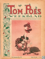 Tom Poes weekblad 2e jaargang nummer 34