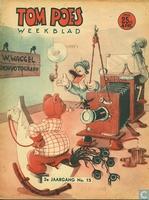 Tom Poes weekblad 2e jaargang nummer 15