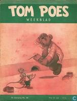 Tom Poes weekblad 2e jaargang nummer 36
