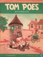Tom Poes weekblad 2e jaargang nummer 40