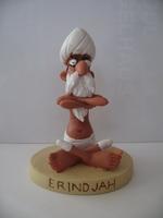 Asterix & Obelix beeldje #63 Erindjah