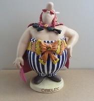 Asterix & Obelix beeldje #46 Obelix als Unternehmer