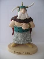 Asterix & Obelix beeldje #69 Cholerik