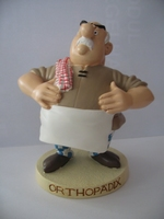 Asterix & Obelix beeldje #39 Orthopädix