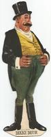 Pipo de Clown kartonnen figuur Dikke Deur