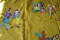 Pipo de Clown gordijnstof #2