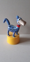 The Flintstones Kohner push-puppet 1960's Dino