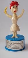 The Flintstones Kohner push-puppet 1960's Wilma
