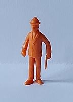 Kuifje Monty Gum figuurtje Dupont