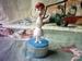 The Flintstones vintage push puppet Wilma