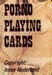 Erotic Pin-up playing cards Deck #58