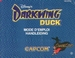 NES Darkwing Duck manual