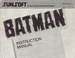 NES Batman manual
