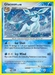 Pokemon Majestic Dawn Glaceon (holo)