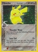 Pokemon Ex Legend Maker Pikachu (holo)