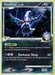 Pokemon Platinum Rising Rivals Darkrai (holo)