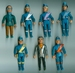 Thunderbirds Matchbox figures