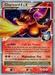 Pokemon Supreme Victors Charizard lv. X (holo)