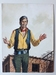 #06. Original Cover painting Western novel Rurales #186